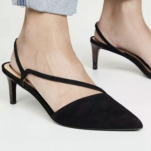 Joie's Slingback Leather Pump Heels Shoes